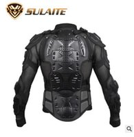Wholesale Black Red Motorcycle Body Armor Motocross Armour Motorcycle Jackets Gears Short Pants protective Motocycle Knee Pad