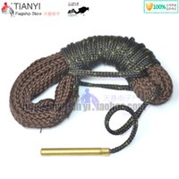 Wholesale Gun Accessories MM Cleaning Cord Kit Bore Snake Rope Rifle Pistol Shotgun Hunting Gauge Cleaner Rope P12