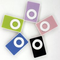 Wholesale Cute candy sport clip mini music mp3 player Supports memory CARDS No accessories