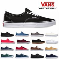 Wholesale Original Shoes Canvas Authentic Core Classic Black White Low Cut Tops Casual Shoes For Mens Womens Sneakers Skateboarding Shoes
