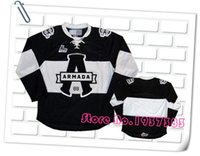 Wholesale New Design Style Blainville Boisbriand Armada Black Hockey Jerseys Accept Custom Stitched Jerseys Custom Any Name and Number