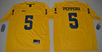 Wholesale Michigan Wolverines Jabrill Peppers Men College Football Limited Jersey Yellow Size S M L XL XL XL