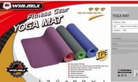 Wholesale Winmax Sport Mats for Yoga Folding Gymnastic Mat High Quality TPE Round Yoga Mat