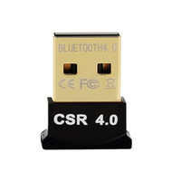 Wholesale USB Bluetooth Adapter V4 Dual Mode Wireless Dongle Free Driver USB2 m Mbps for Windows XP Vista
