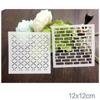 Многоразовые трафареты комплект кирпичей маскирующие шаблон для скрапбукинга, cardmaking, живопись, DIY карты 117