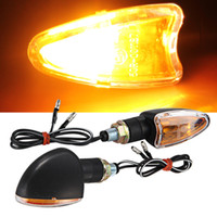amber piece - 2 pieces Motorcycle Turn Signal Light Bulb Indicator Yellow Amber bulb V W