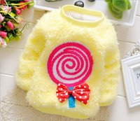 Wholesale boys girls winter sweater kids baby girl sweater pullover outwear Protection baby winter Clothing Children baby girls outfits Boutique D0065