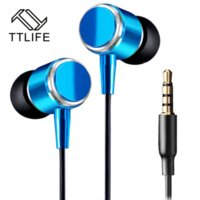 best quality media player - TTLIFE Original JMF mm Wired Earphones Portable Line Type High Quality Best Bass Earbuds For Phones iPod All Media Player