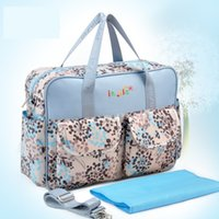 Wholesale 2017 Insular Large capacity multifunctional Elegant Baby Diaper Backpacks Nappy Bags Multifunctional Changing Bags For Mommy Shipping Free