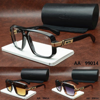 Wholesale 2016 HOT TOM Brand ca zal Designer men woman ver Clear Lens Black Sunglasses Ford with origianal box dita carrer Versacey Crocodile glasses