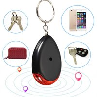 Wholesale Waterproof Anti Lost Finder Whistle Controlled Anti theft Anti Lost Security Keychain Positioning Tracker