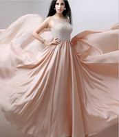 art deco necklaces - Fashion And Elegant Boat Collar Prom Dress New Sexy Pearl Necklace Special Occasions Evening Dress Leisure Long Paragraph Dress