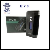 Wholesale 100 Original Pioneer4You IPV8 W TC VW Vape Mod YiHi SX330 F8 Chip Dual Battery