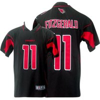 Wholesale Men Football Cardinals FITZGERALD Game Embroidered Salute To Service and Color Rush jersey