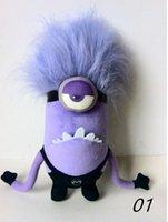 al por mayor muñeca demonio-Despreciable me ladrón papá púrpura pequeño amarillo Muñeca Muñeca Pequeño Peluche púrpura demonio Huang Doudou
