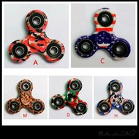 Wholesale 2017 Colorful Fidget Spinner EDC Hand Spinner No Rust Anxiety Toys Finger Tip Sprial