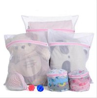 Wholesale 30 CM Washing Machine Specialized Underwear Washing Lingerie Bag Mesh Bag Bra Washing Care Laundry Bag in Best Price And Qualty W1129