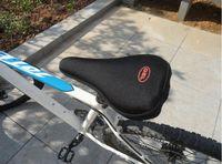 Más nuevo al aire libre bicicleta de silicona bicicleta bicicleta suave grueso gel sillín asiento almohadilla cojín almohadilla piezas de bicicleta deportes al aire libre
