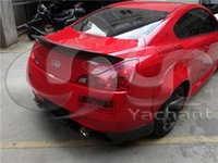 Wholesale Auto Accessories Car Styling Carbon Fiber LB P Style Spoiler Fit For G Series V36 Coupe LB Works Trunk Spoiler Wing