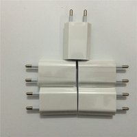Wholesale 200pcs High Quality A1400 EU Plug USB AC Power Charger Wall Adapter For iphone s Plus s SE with retail box
