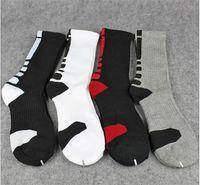 Wholesale 50 pair USA Professional Elite Basketball Socks Long Knee Athletic Sport Socks Men Fashion Compression Thermal Winter Socks A057