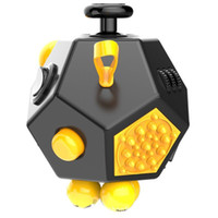 Big Kids big green help - New Novelty Fidget Cube nd Generation USA Relieves Stress Boredom and Anxiety Helps to Focus decompression anxiety Toys with retail box