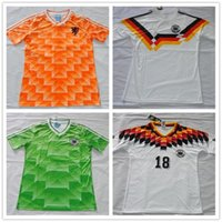 Wholesale Customzie Name Number germany retro soccer jerseys Home Away football shirt soccer uniforms