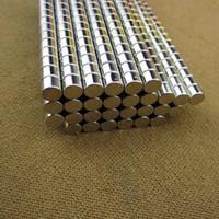 1000pcs 5 * 4mm aimants ronds forts 5x4mm N50 Aimant de néodyme Aimant de terre rare 5mm x 4mm APS0557