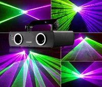 Wholesale Double Lens Club Laser Stage Light DMX Double head laser light for Disco Show DJ