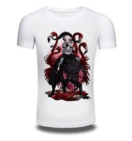 artistic t shirts - Summer high quality cotton t shirt white Artistic painting mens Tees NEW Design Summer male Tops Tees