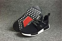 Wholesale 2017 Mastermind x NMD XR1 PK Japan running shoes in triple black in High quality