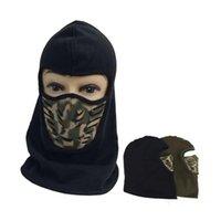 Wholesale Outdoor riding cycling Windproof Full Face Neck Guard Masks ski mask winter warm headwear hat cap Skullies Beanies