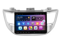 Wholesale Android system din Car DVD player digital screen Quad core for Hyundai New Tucson with GPS radio