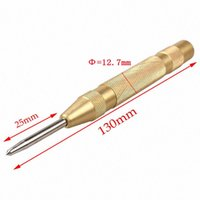 Wholesale 50 pc Inch Automatic Center Pin Punch Spring Loaded Marking Starting Holes Tool hand tools
