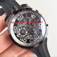 authentic luxury watches - Luxury Watches BRAND NEW AUTHENTIC BOMBERG BOLT QUARTZ CHRONO BLACK PVD RUBBER STRAP WATCH mm Men Watches Top Quality