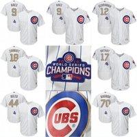 Cheap Baseball 2017 Gold Program Jersey Best Men Short kris bryant jersey