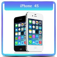 Wholesale Original Apple Iphone S GB GB Dual Core MP quot TouchScreen WCDMA Unlocked Refurbished Phone