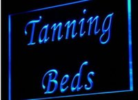 TA02 Tanning Bed bar pub club 3d signes led néon light sign artisanat décoration intérieure