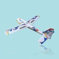 Venta al por mayor S186 Throwing Glider aviones de montaje DIY juguetes educativos