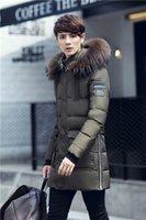 Wholesale 2016 new men s Winter Long Section White eiderdown fashion coat warm down coat jacket casual light feather Jacket