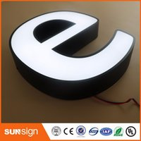 alibaba led - alibaba express custom building signage stainless steel metal LED letters light