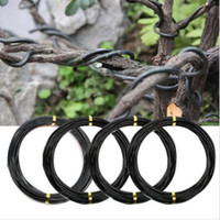 aluminium garden pots - g Bonsai Tree Branch Aluminium Wire Garden Fruit Trees Potted Plant Modeling Tool Good Helper