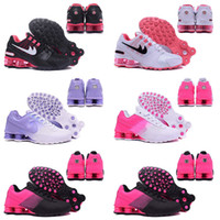 Wholesale New arrival Hot Sale Drop Shipping Famous Shox NZ Shox Deliver Womens Athletic Sneakers Sports Running Shoes Size