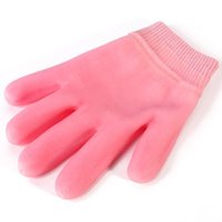 Wholesale Colors Gel Spa Silicone Gloves Soften Whiten Exfoliating Moisturizing Treatment Hand Mask Care Repair Hand Skin Beauty Tools