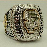 al por mayor champion rings-Anillos de campeonato de 2014 San Francisco Equipo gigante Super campeón anillo