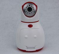 Wholesale Smart Spy Wifi Camera W Pixel Voice intercom Screen Visual telephone PTZ control USB TF Sorage G