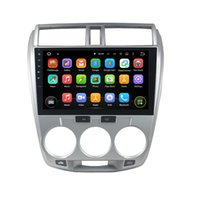 africa cities - Quad Core din quot Android Car Radio player for Honda City With GPS G WIFI Bluetooth USB DVR Mirror Link Car DVD Play