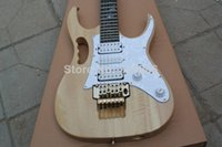 Wholesale High quality New Steve Vai DiMarzio pick up burlywood Electric Guitar