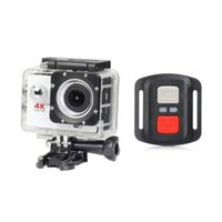 Wholesale H16R Cost effective With G remote control K Full HD P WIFI inch LCD Action Sports Camera Camcorder D Waterproof