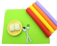best placemats - good quality x30cm silicone pink placemats Baking dinner mats Best Silicone Oven Mat dinner placemats placemats Kid Table Mat